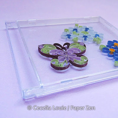 CD Case for Quilling Storage