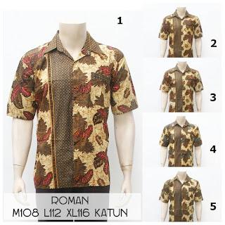 Kemeja Batik Roman
