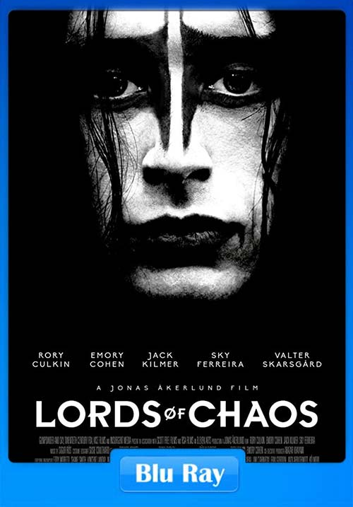 Lords of Chaos 2018 720p BRRip x264 | 480p 300MB | 100MB HEVC Poster