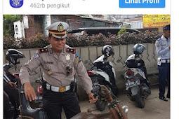 Di Kandangin Polisi Karna Modifikasi Motor