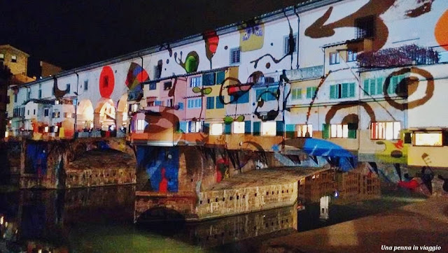 Firenze Light Festival Ponte Vecchio