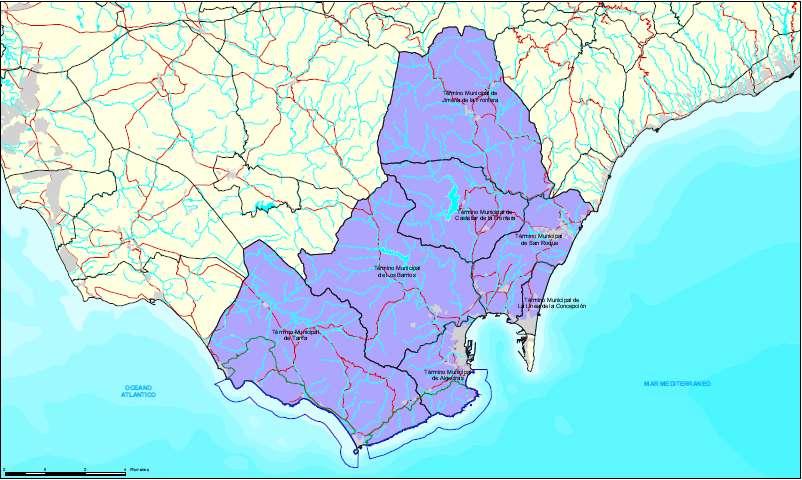 Campo De Gibraltar Mapa.Campopulse Significant Changes To Political Map Of Campo De