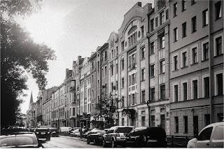 Петербург, Васильевский о-в, 3 линия, Жилой комплекс АЛЬБА, 2000г.