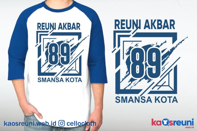 Sablon Kaos Reuni Akbar Angkatan 98 SMANSA - Desain Sablon Kaos Reuni Online