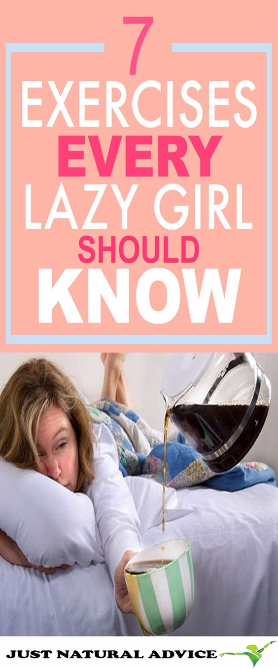 7 Workouts for When You're Feeling Lazy