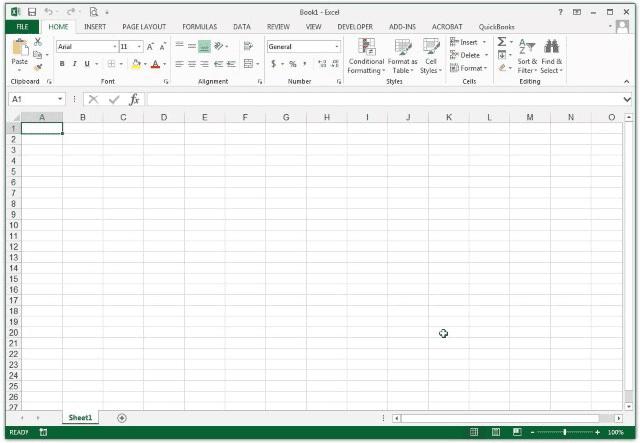 Microsoft Excel 2013 (v15.0)