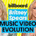 Britney Spears Music Video Evolution