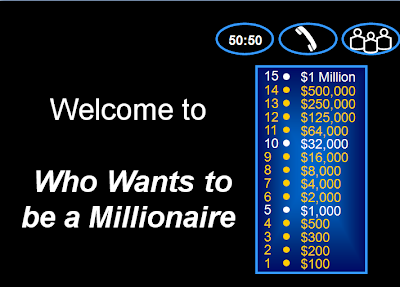 Powerpoint Who Wants To Be A Millionaire Template