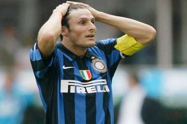 All Football Players: Javier Zanetti Italy Young Star