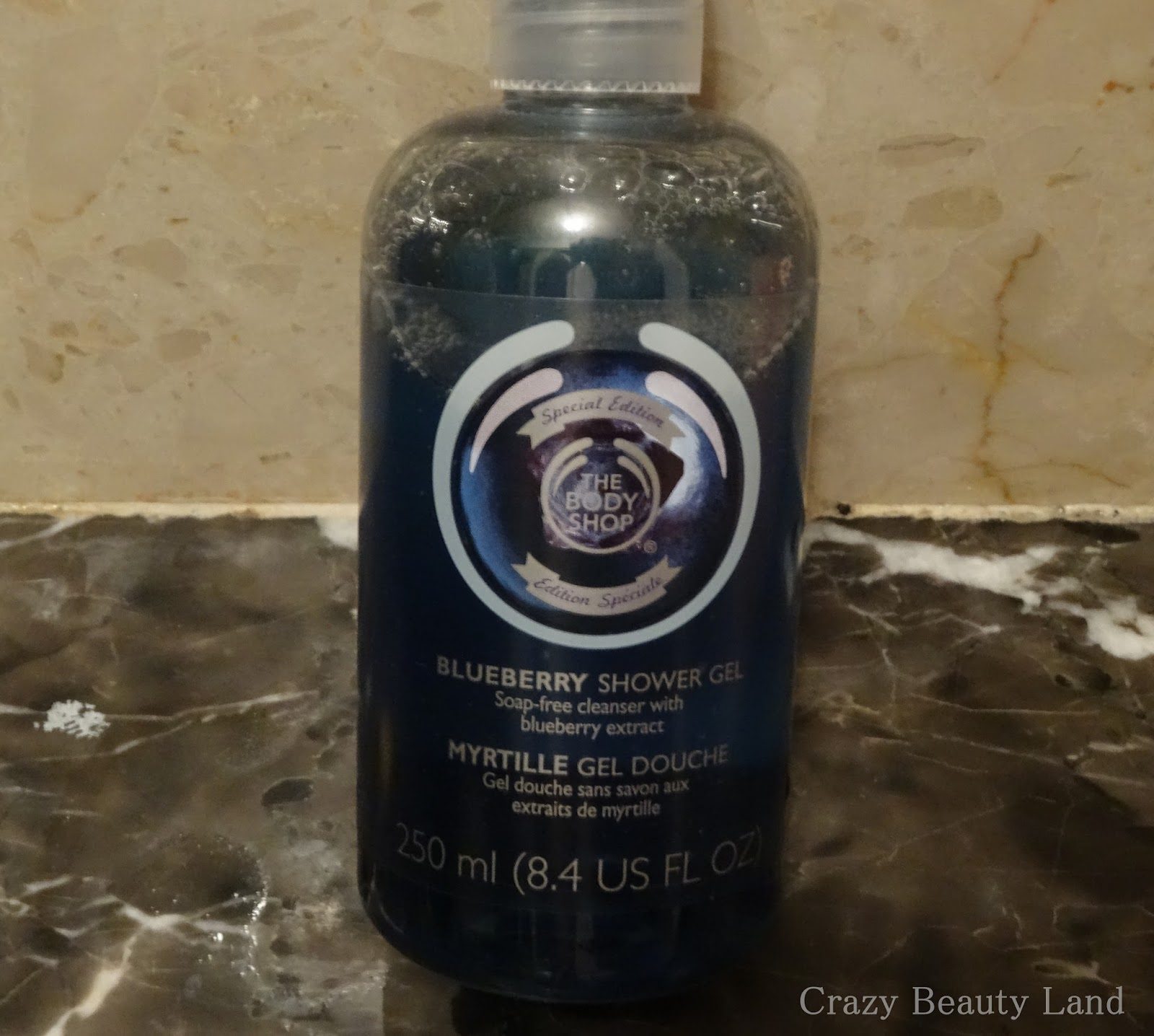 The Body Shop Blueberry Shower Gel Review in India