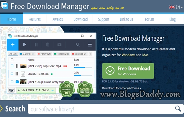 Free Download Manager