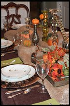 Fall Dinner Party for Eight