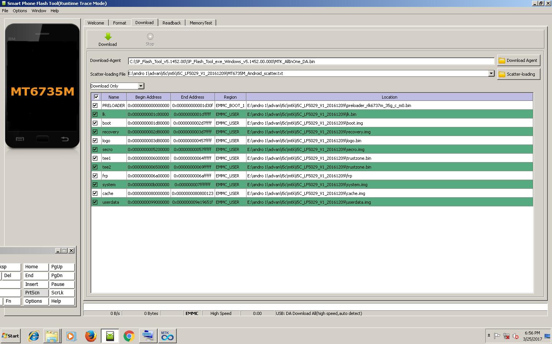Firmware Advan I5c Mtk