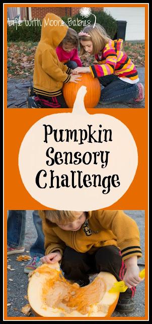 Pumpkin Sensory Challenge