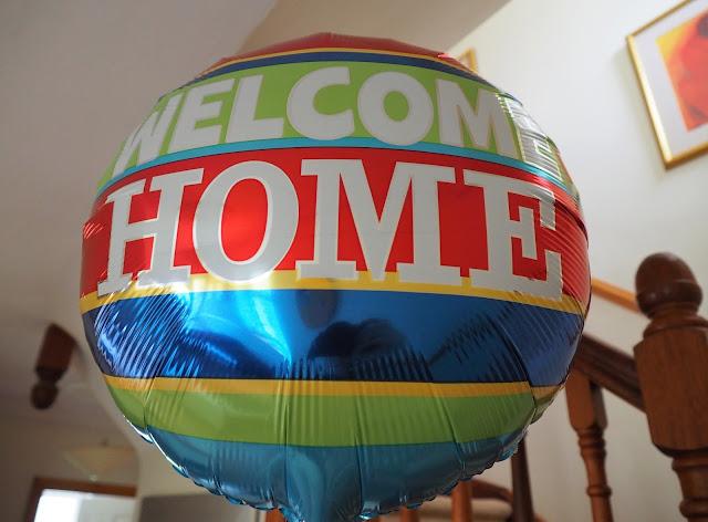 welcome home, ilmapallo