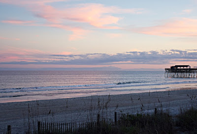 Sunrise at Myrtle Beach in South Carolina