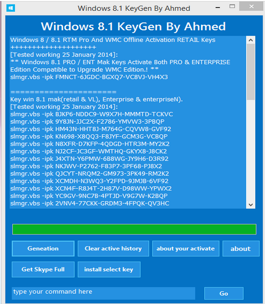 windows 8 free keygen