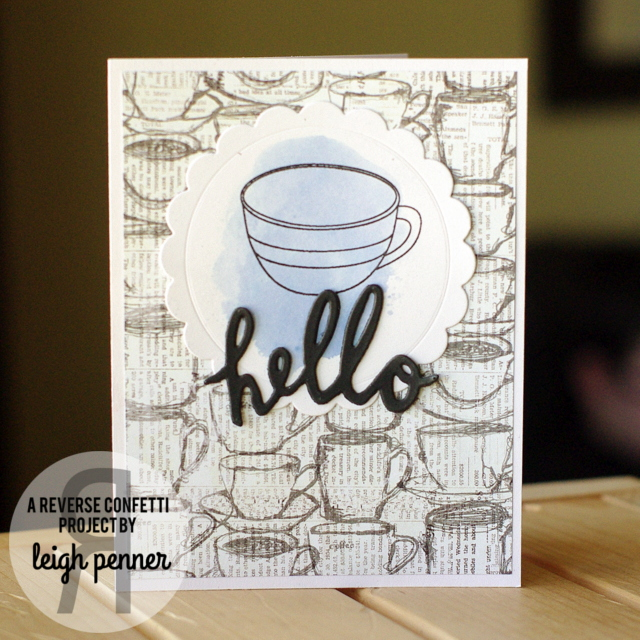 Muse Challenge #113  Leigh Penner @reverse confetti @leigh148 #reverseconfetti #cards