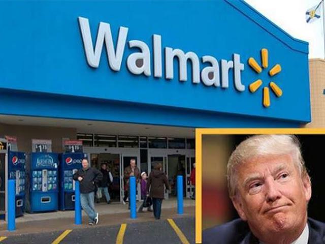 Donald Trump ORDENA A WALMART abandonar producción en México.