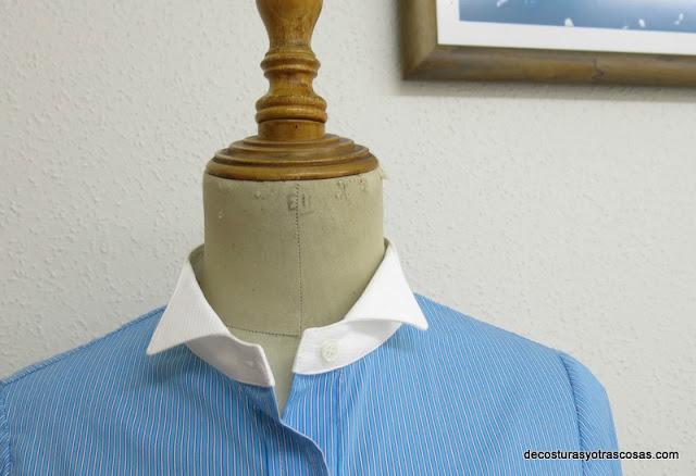 tutorial cuello camisa