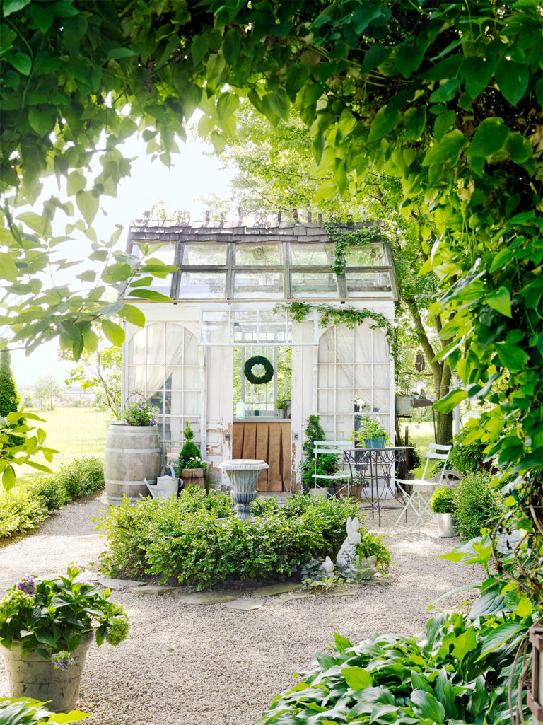 Home garden 3 cabanes de jardin qui font r ver et 6 for Cabane de jardin