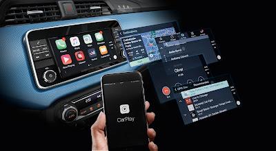 Το νέο Nissan ΜΙCRA εφοδιάζεται μεApple CarPlay
