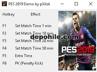 PES 2019 (PC) Penaltı,Ekstra Süre +3 Trainer Hilesi İndir