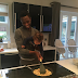 Adorable photo of Mikel Obi and his daughter cooking