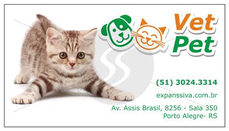 cartoes de visita veterinarios gato - 15 lindos Cartões de Visita de Veterinários