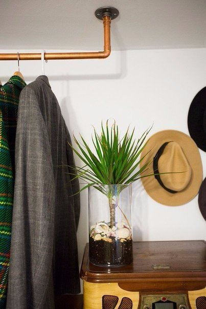 diy hang clothes without a closet do it yourself