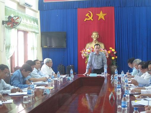 Ban Dân vận Trung ương làm việc với huyện Lý Sơn