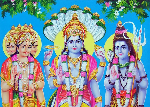 Best Lord Bramha Vishnu & Mahesh HD wallpaper For Desktop