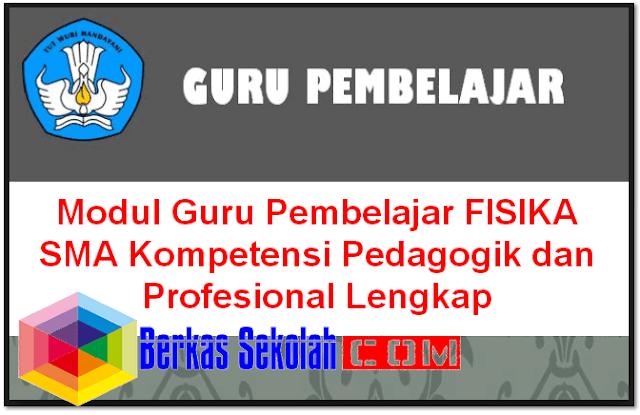 odul Guru Pembelajar FISIKA SMA Kompetensi Pedagogik dan Profesional Lengkap