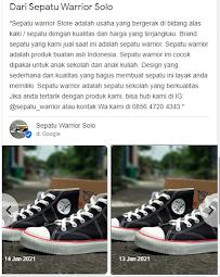 Sepatu Warrior Buatan Mana?