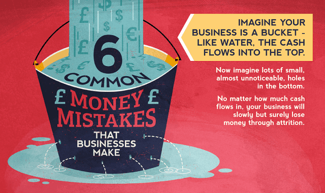 6 Common Money Mistakes Small Business Owners Make