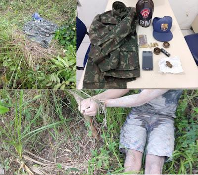 Polícia Militar resgata adolescente condenado à morte pelo crime em Aratuípe
