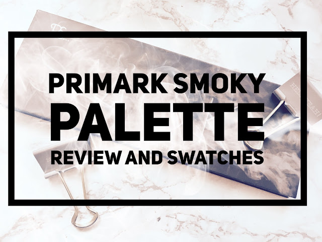 Primark Smoky Eye Palette Review and Swatches #bbloggers