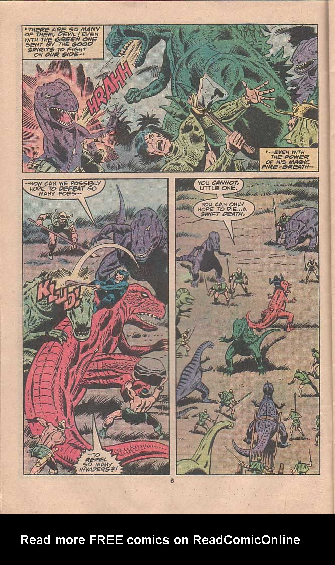 Godzilla (1977) Issue #22 #22 - English 4