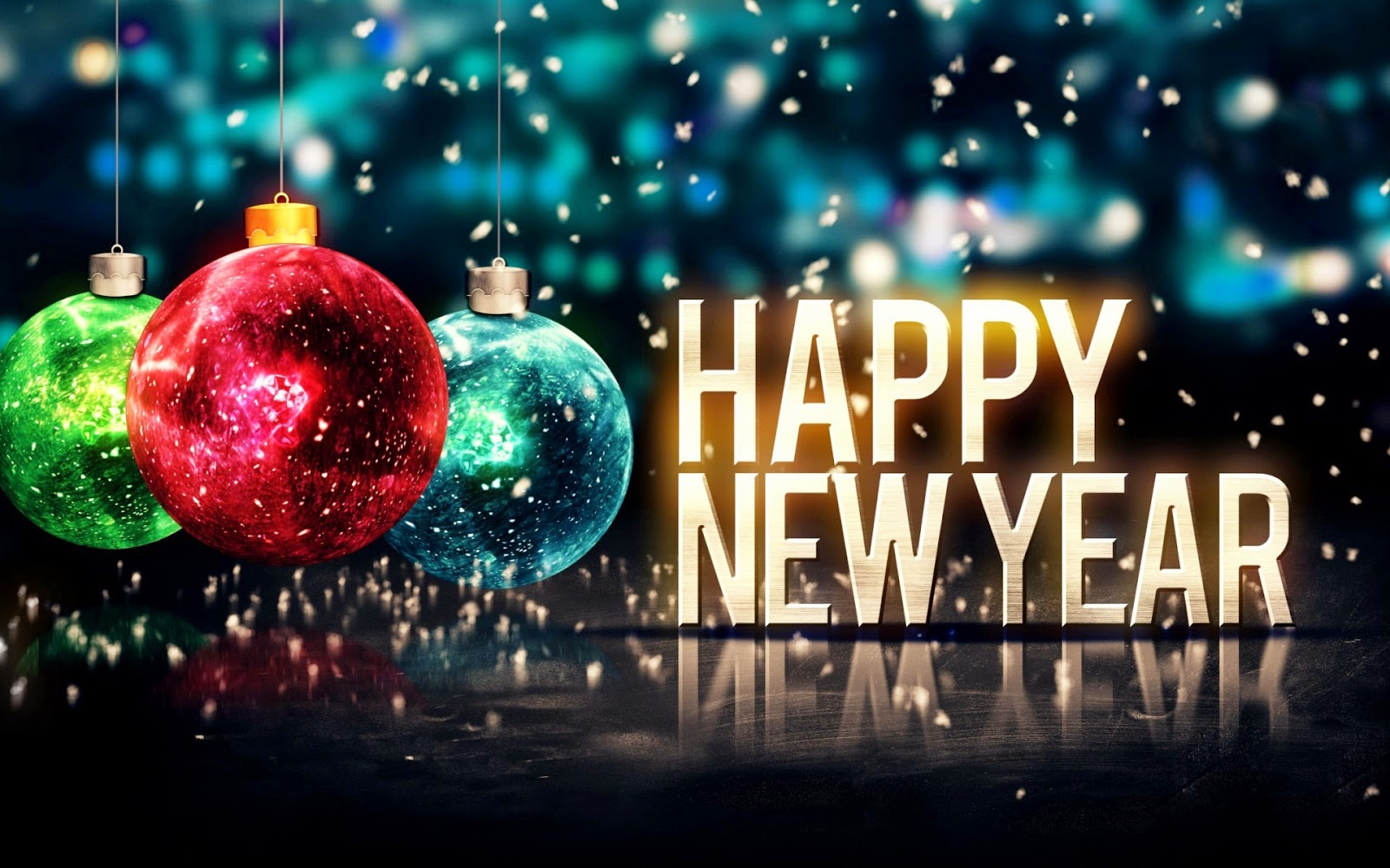 Happy New Year 2015 Wallpapers 1360 X 768 Free Download Happy New