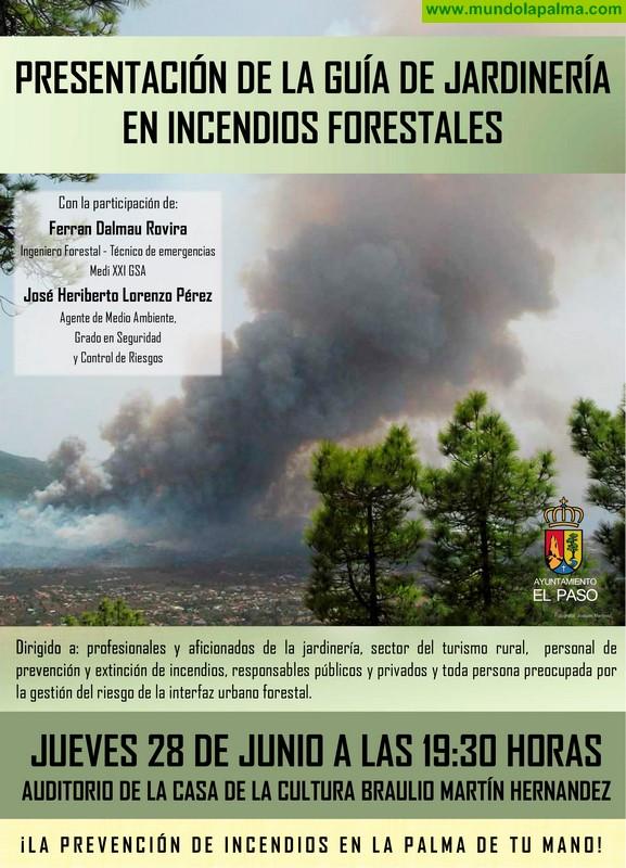 """Presentación de la """"Guía de jardinería en incendios forestales"""""""