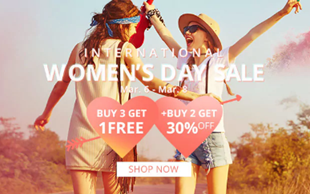 Women´s Day Sale
