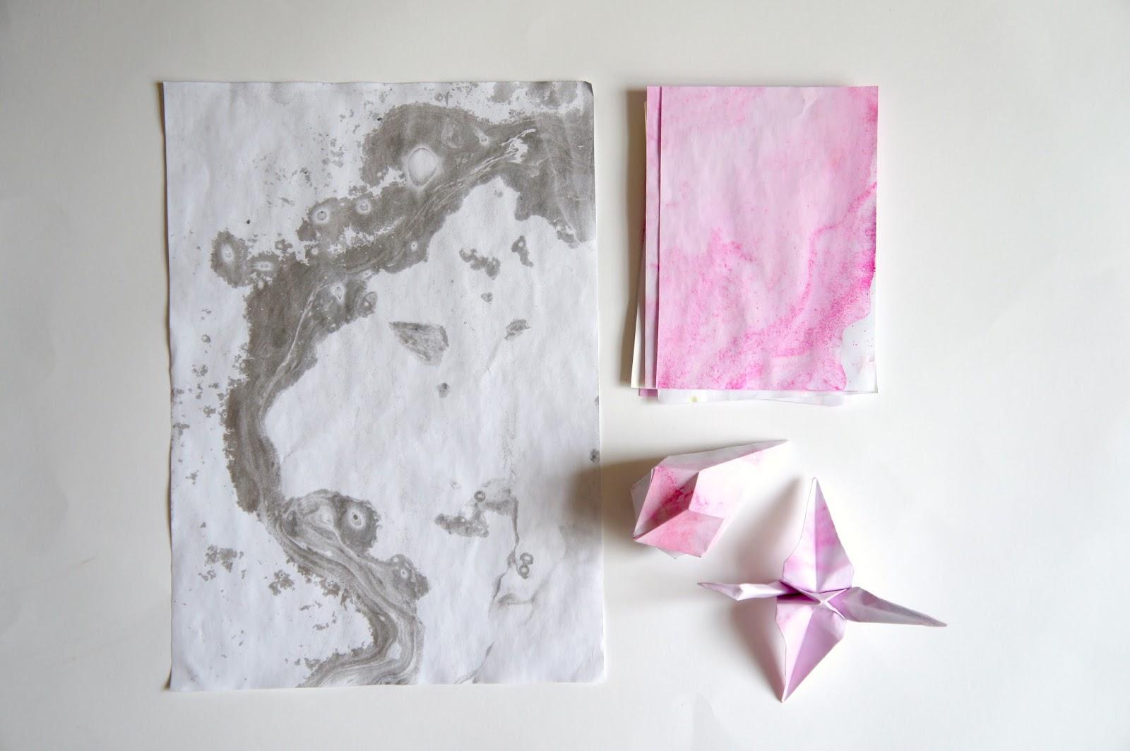 Diy Lush Bath Bomb Marble Paper Jessalli The Blog