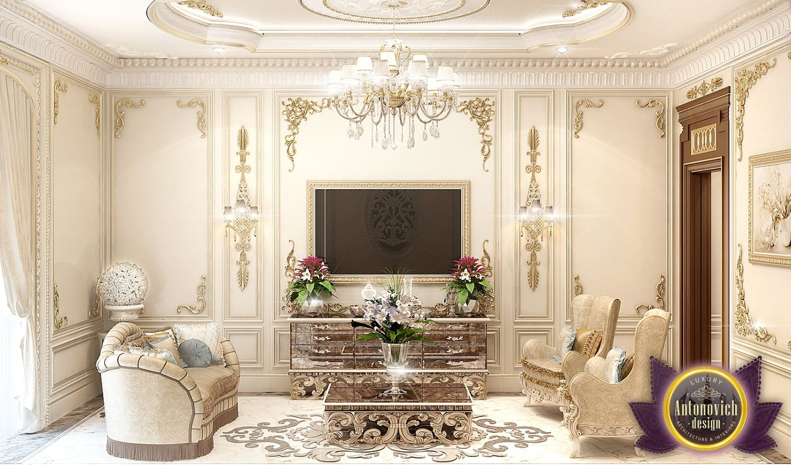 LUXURY ANTONOVICH DESIGN UAE Luxury Royal Arabic