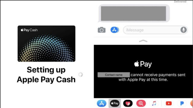 apple pay cash set up