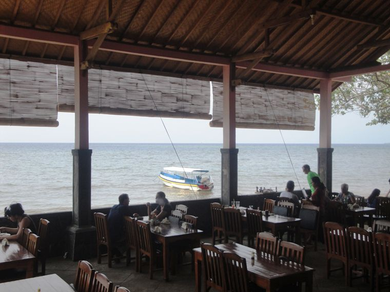 Lovina Beach Restaurant Lunch Break - Lovina Beach Restaurant, North Coast Buleleng, Singaraja Northern Bali, Dolphin Water Sport Activities, Holidays, Excursions, Attractions
