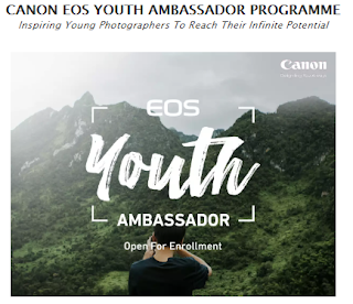 CANON EOS YOUTH AMBASSADOR PROGRAMME  Inspiring Young Photographers To Reach Their Infinite Potential