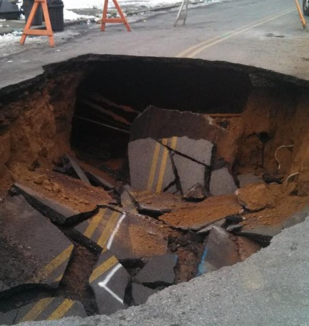 Is A Sinkhole A Natural Disaster