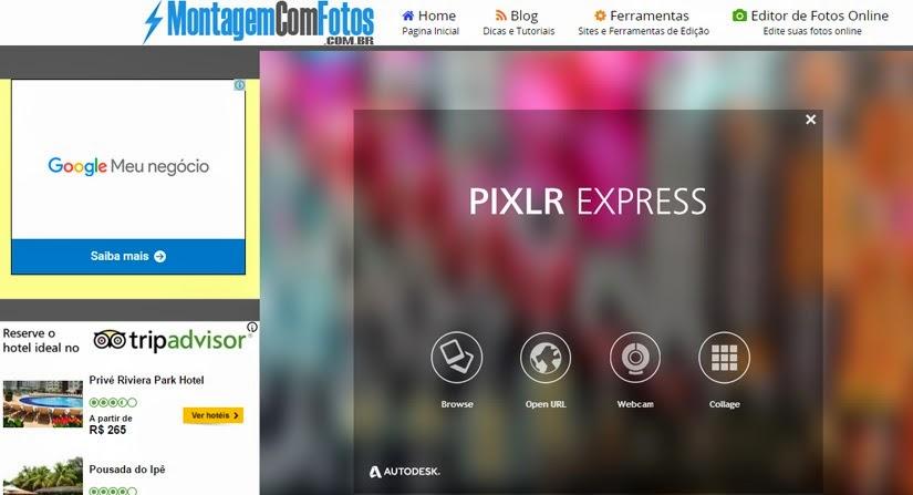 Sites e aplicativos para viajantes - Montagem com fotos