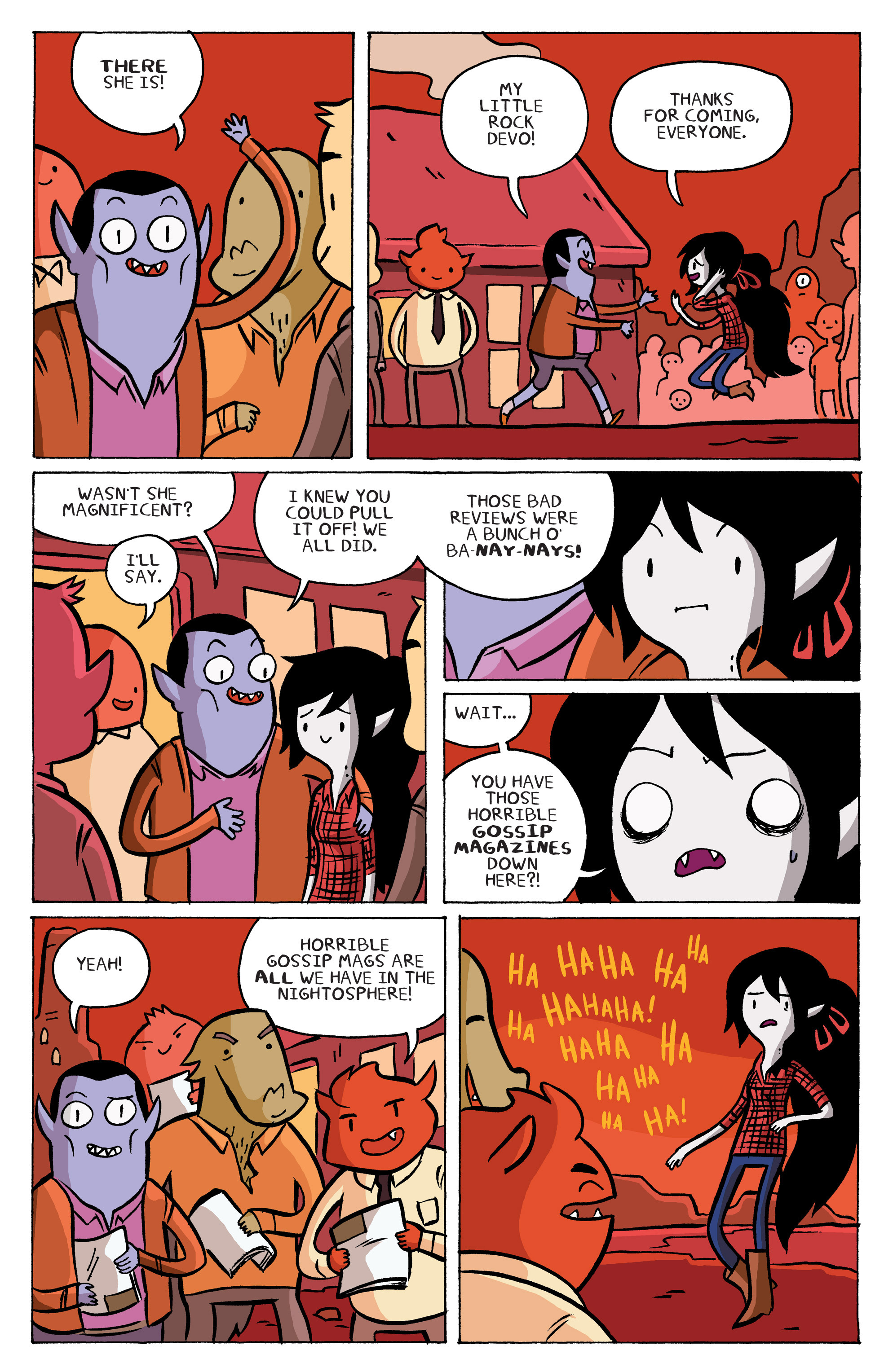 Read online Adventure Time: Marceline and the Scream Queens comic -  Issue #5 - 12