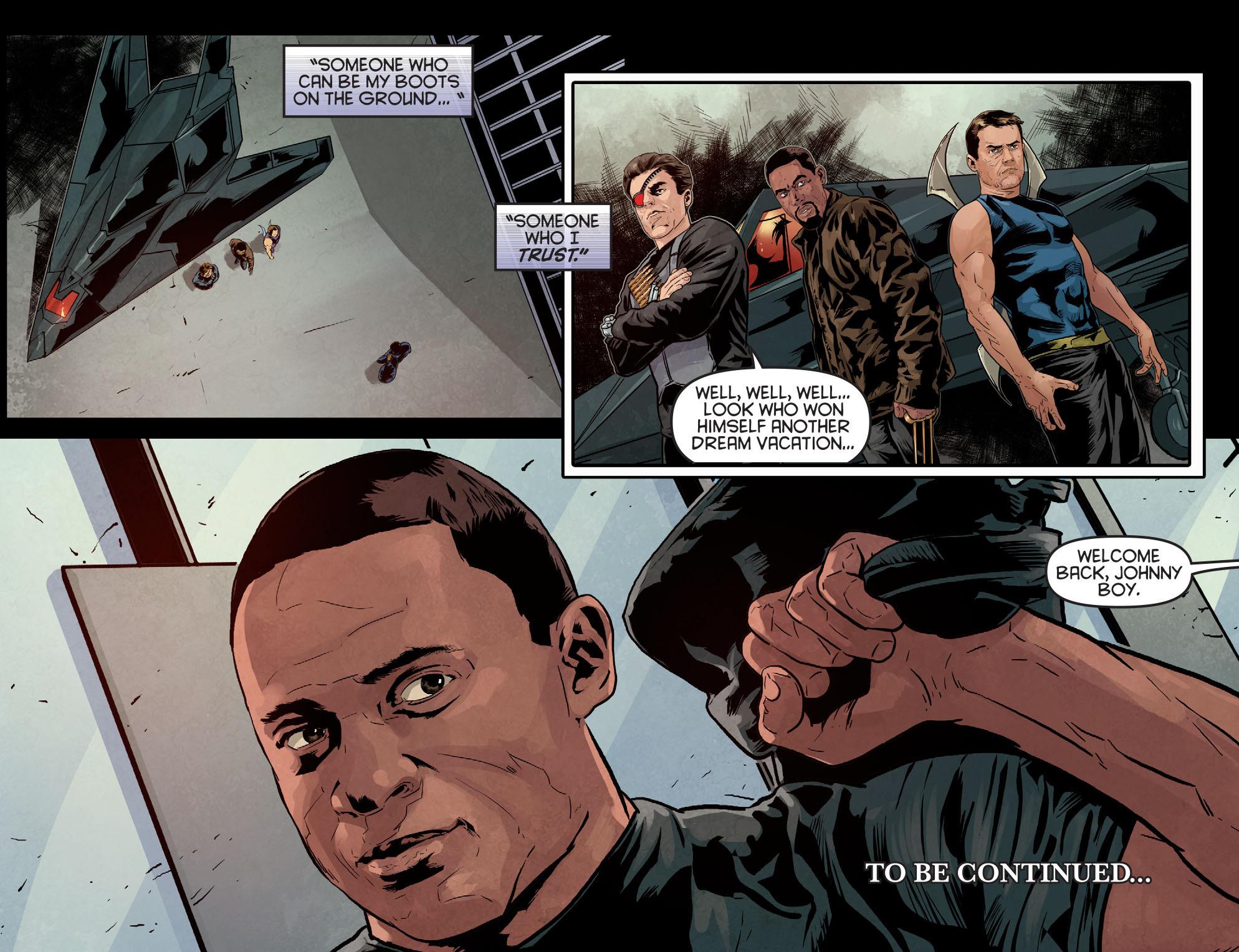 Read online Arrow: Season 2.5 [I] comic -  Issue #10 - 22